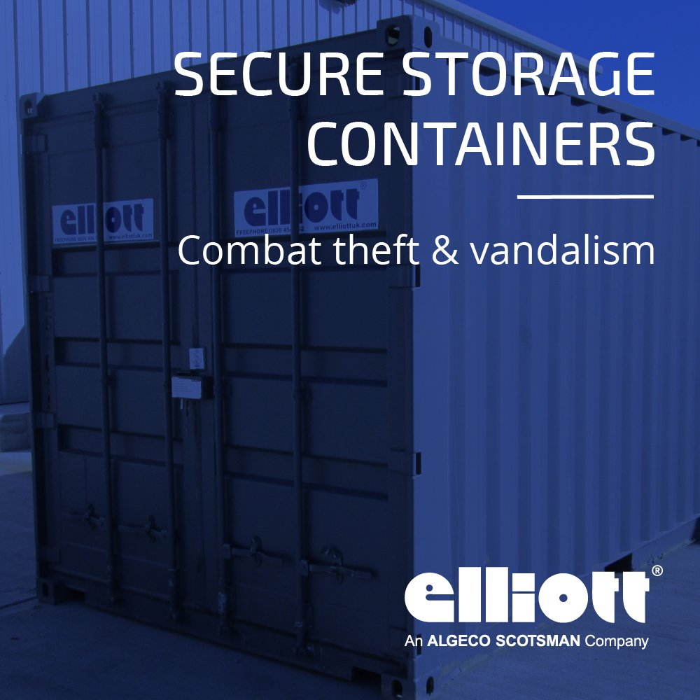 Elliott an Algeco Company on Twitter Lacking suitable storage