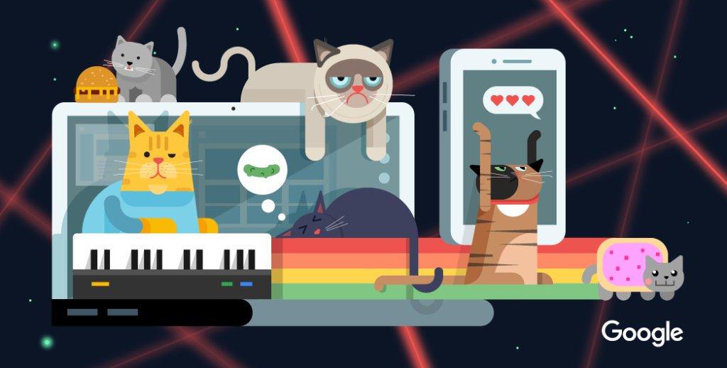 ¿Qué sería de Internet sin ellos? 😻 #DíaInternacionalDelGato https://t...