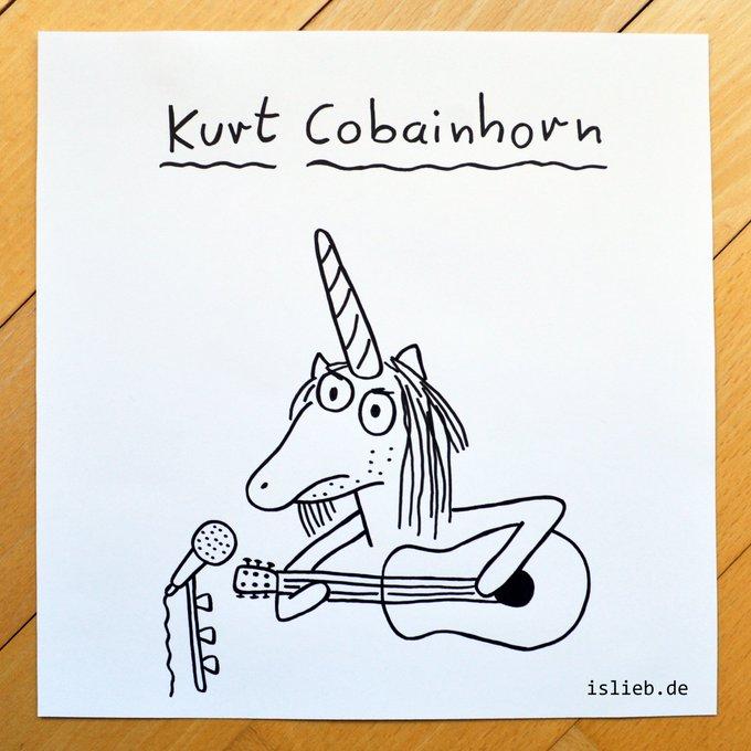 Happy Birthday, Kurt Cobain! | Wer will die Zeichnung?