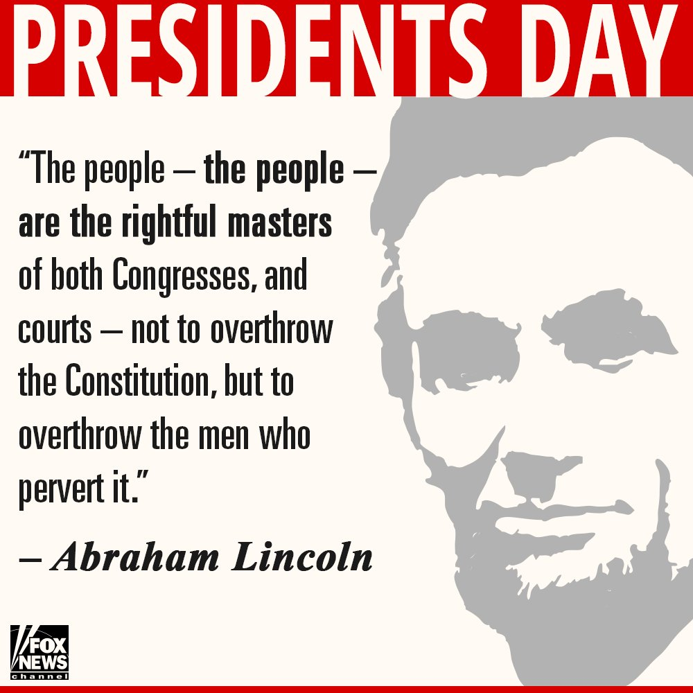 Happy #PresidentsDay! https://t.co/LISsasR5a4