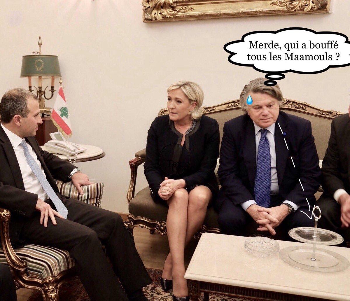@GilbertCollard : &quot;Qui a bouffé tous les Maamouls ?...&quot; #Liban #FN #MLP #MLPLiban #Politique #Presidentielle2017 #LePen @MLP_officiel<br>http://pic.twitter.com/37nBF9BFai