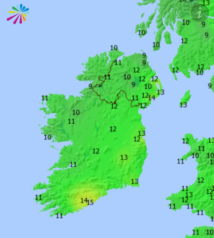 Scorcher. Normal temperatures at this time of year around 8/9C. Today,...