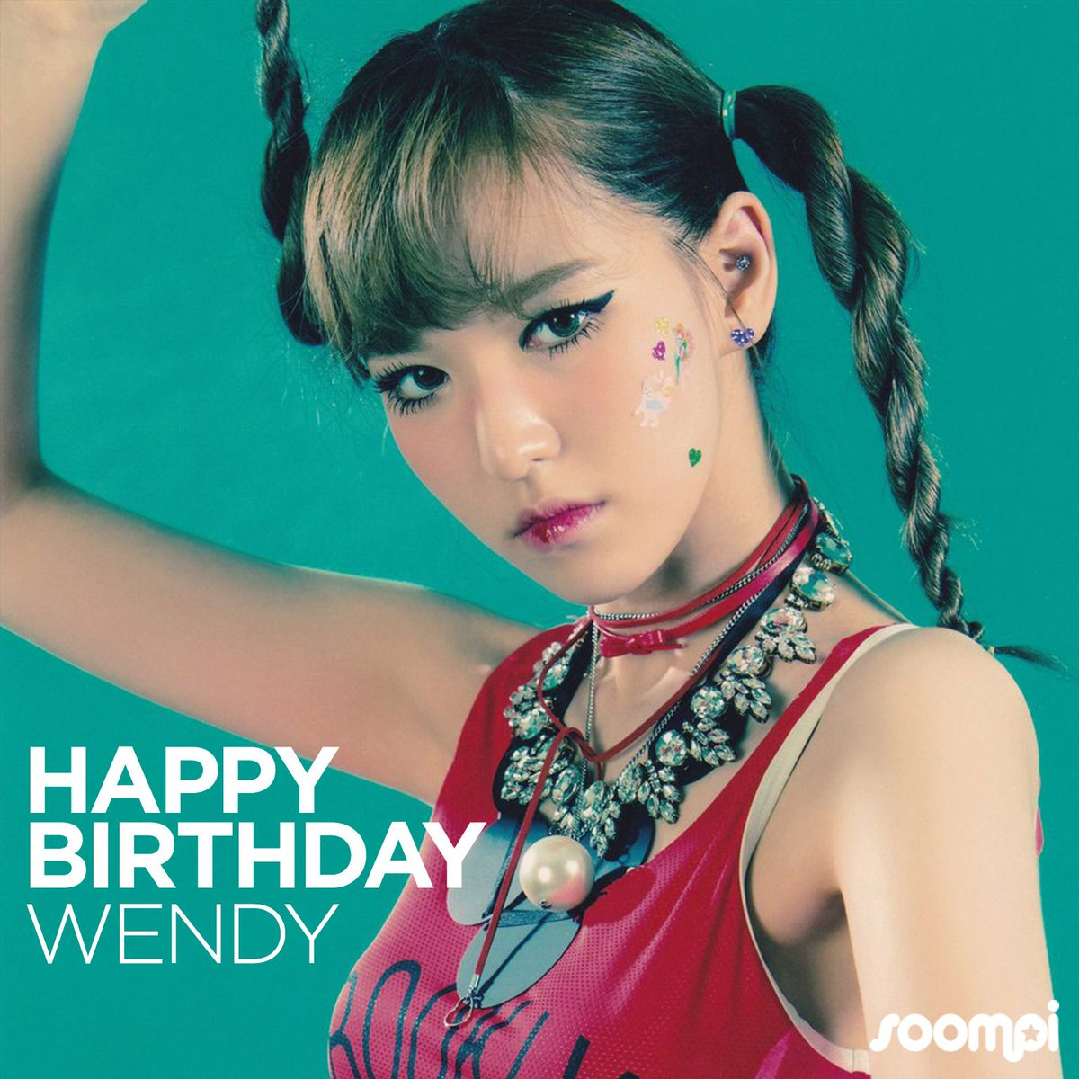 Happy Birthday to #RedVelvet's Wendy! #HappyWendyDay  https://t.co/Voc...