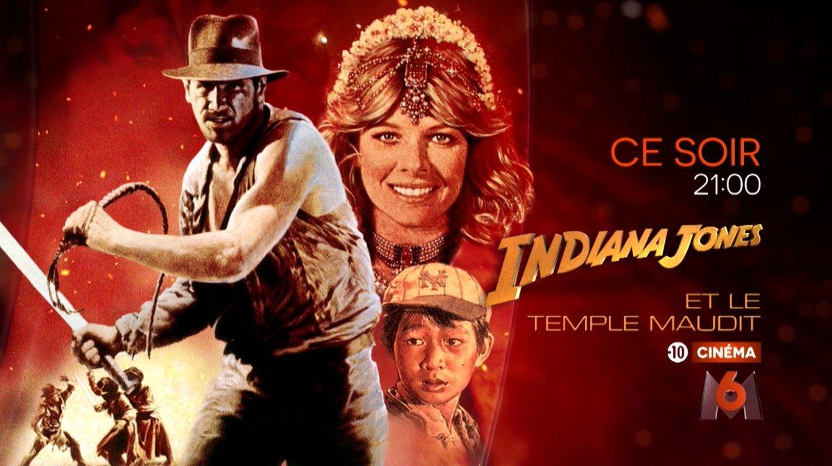 Tout de suite, #IndianaJones et le Temple maudit !  RT si vous êtes de...