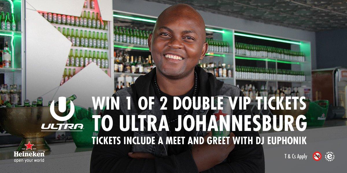 Heineken sa on twitter rt to enter for vip ultrasa2017 tickets heineken sa on twitter rt to enter for vip ultrasa2017 tickets win a meet and greet with euphonik m4hsunfo