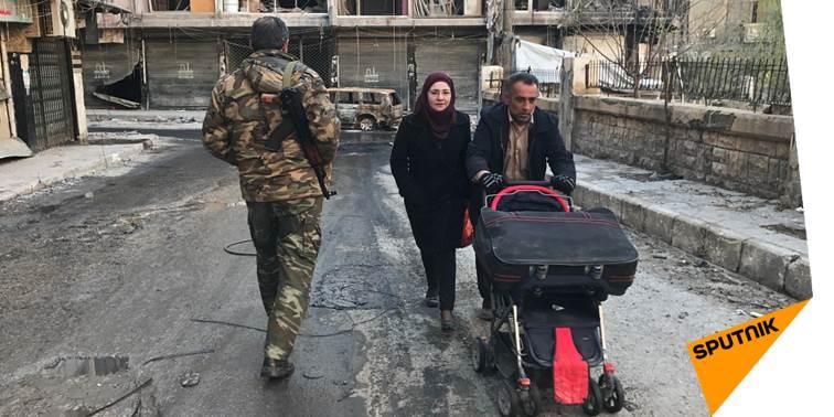 L'armée syrienne appelle les habitants de la province d'#Alep à regagner leurs foyers  http:// sptnkne.ws/dAzJ  &nbsp;   #Syrie<br>http://pic.twitter.com/SYxF89lt3P