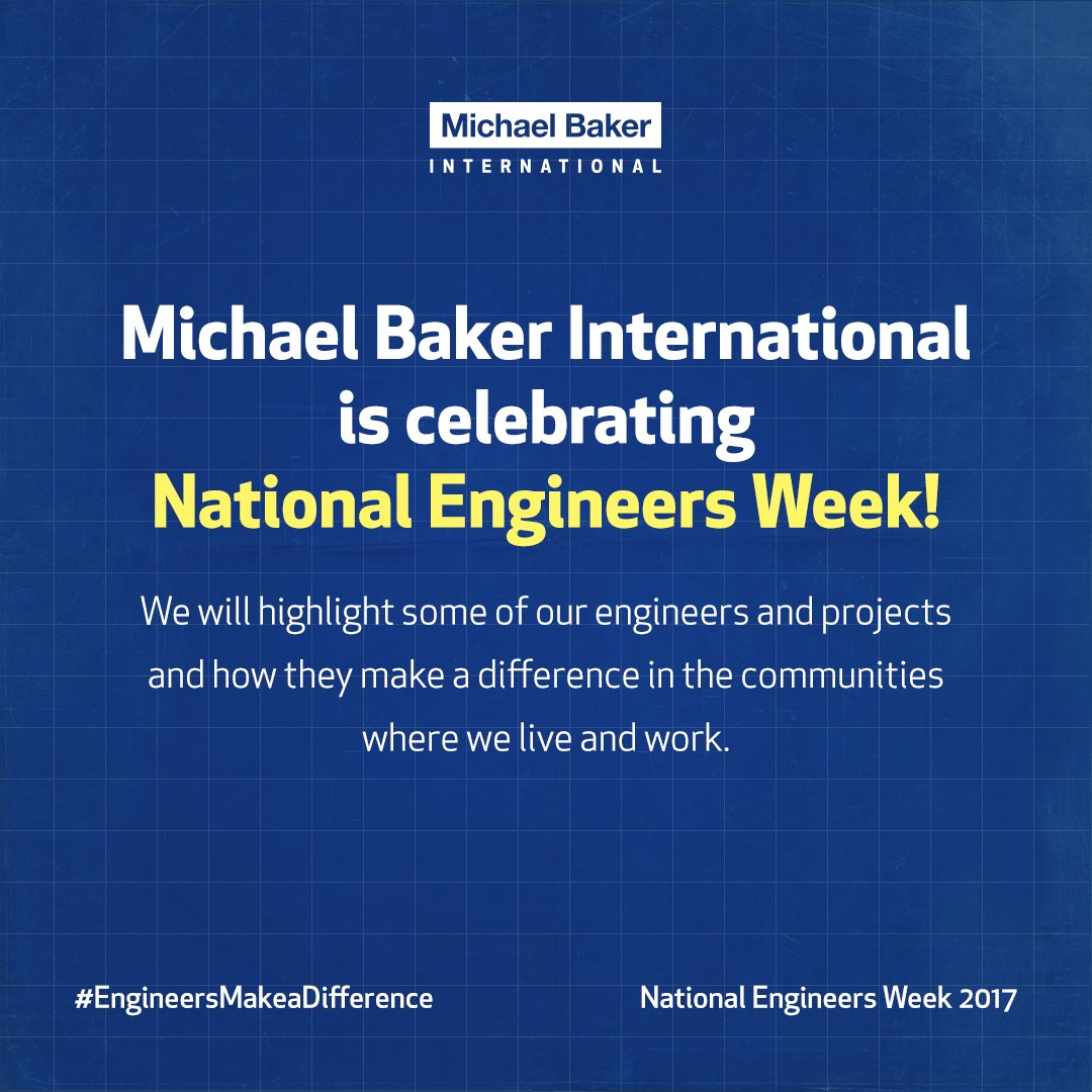 This week we'll highlight some of our engineers & projects for #NationalEngineersWeek. Join us in celebrating how #EngineersMakeaDifference https://t.co/Ru9YiGHTT2