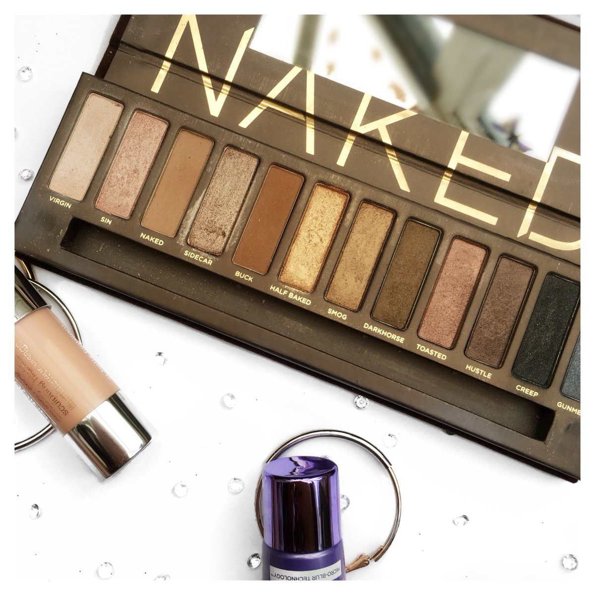 Urban Decay Naked Palette | review &amp; swatches    @BBlogRT @BloggerBees #bbloggers #lbloggers #makeup #eyeshadow #fbloggers #ukbloggers<br>http://pic.twitter.com/ZY2JhVquW7