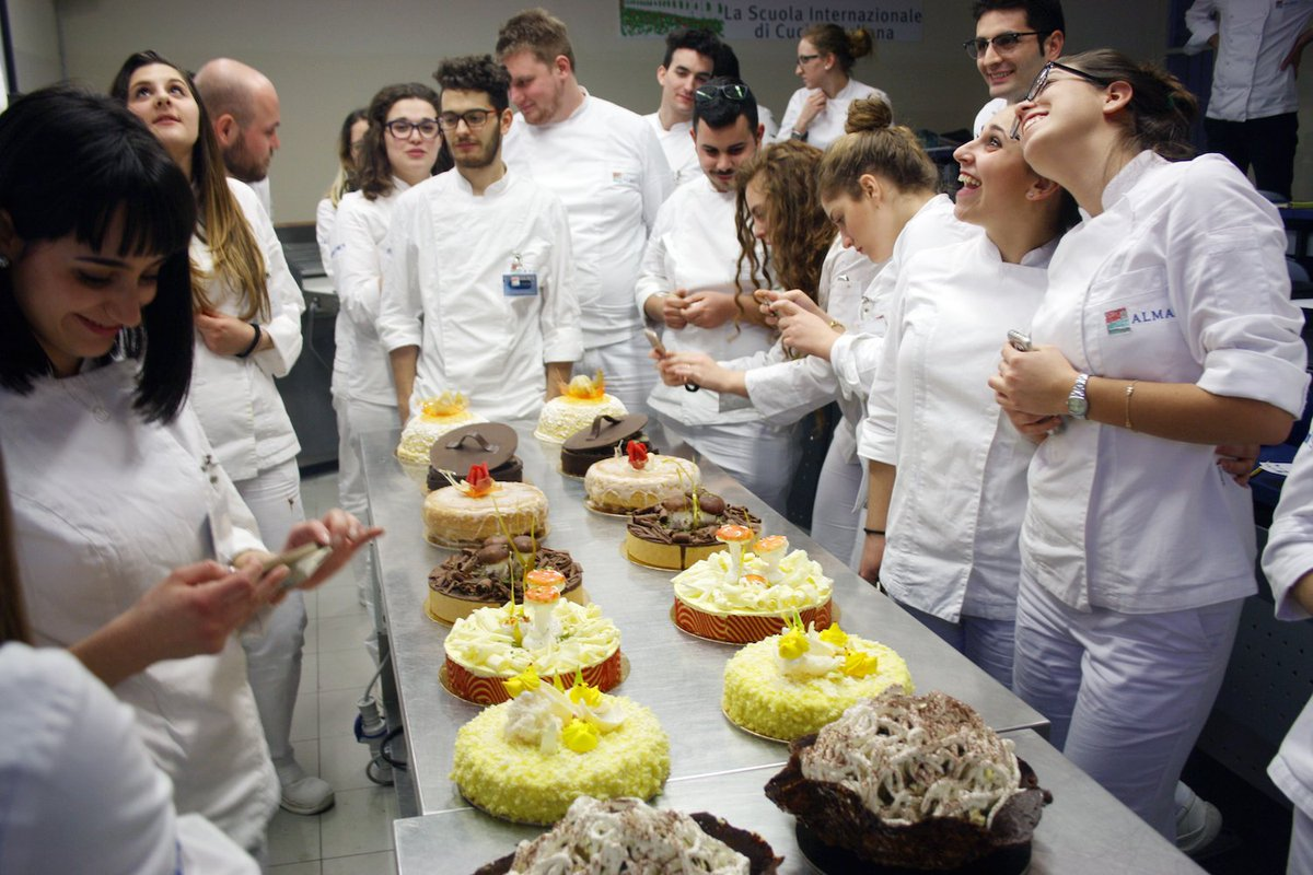 Alma xxxv edizione del corso superiore di cucina italiana
