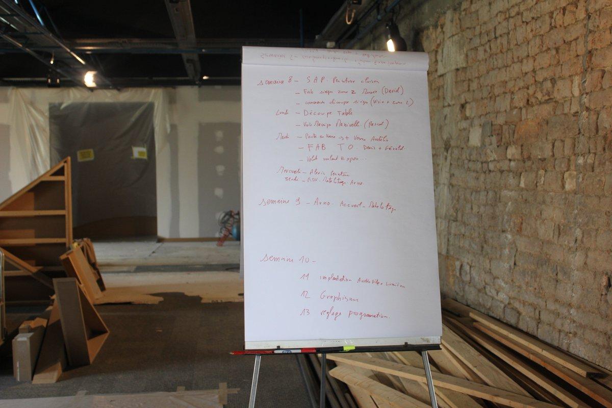 Comme chaque début de #semaine sur le #chantier #planning indispensable !#travaux #exposition permanente #Rochefortocean #CharenteMaritime<br>http://pic.twitter.com/7gYyJRWWTM