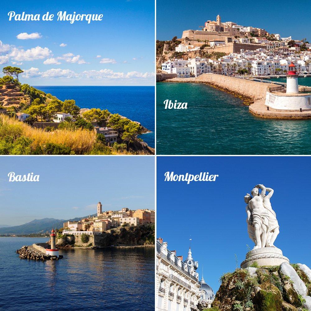 ️ Votez pour votre ville préférée ! ️ #Palma #Ibiza #Bastia #Montpellier #Voyage #Soleil #Sun<br>http://pic.twitter.com/ksJDXHreQr