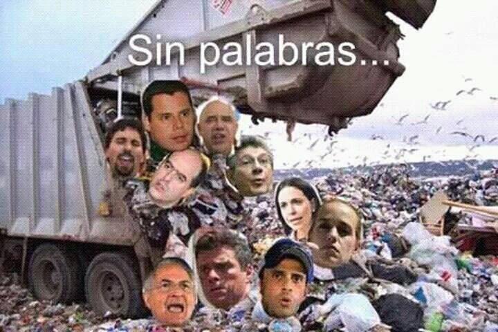 Oposición Venezolana PitiYanki,#Mercenaria,#Arrastrada y VendePatria   .#cNn.#uPi.#uE.#NyDn.