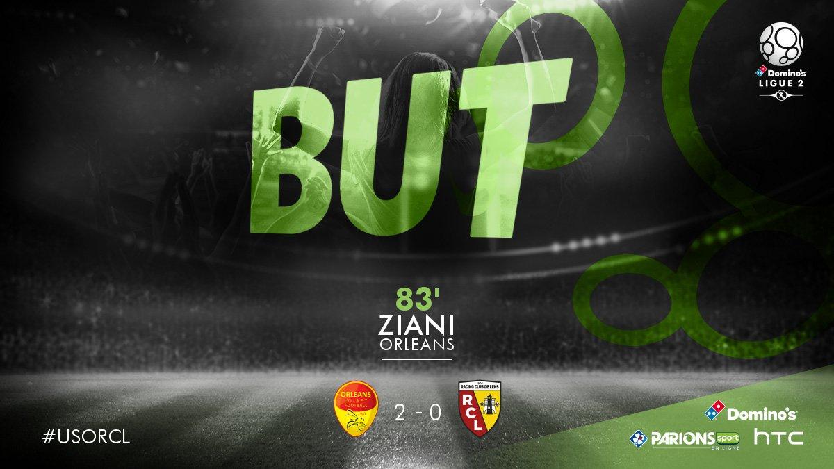J26 - @US_Orleans / @RCLens  : But de Karim Ziani sp (2-0) → https://t...