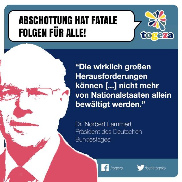 #norbertlammert #nationalstaaten #abschottung #gemeinsam #togeza #trum...