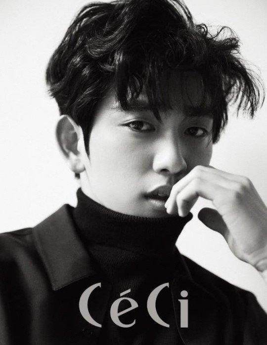 GOT7's Jinyoung Poses for CeCi Magazine    kpop korea kdrama