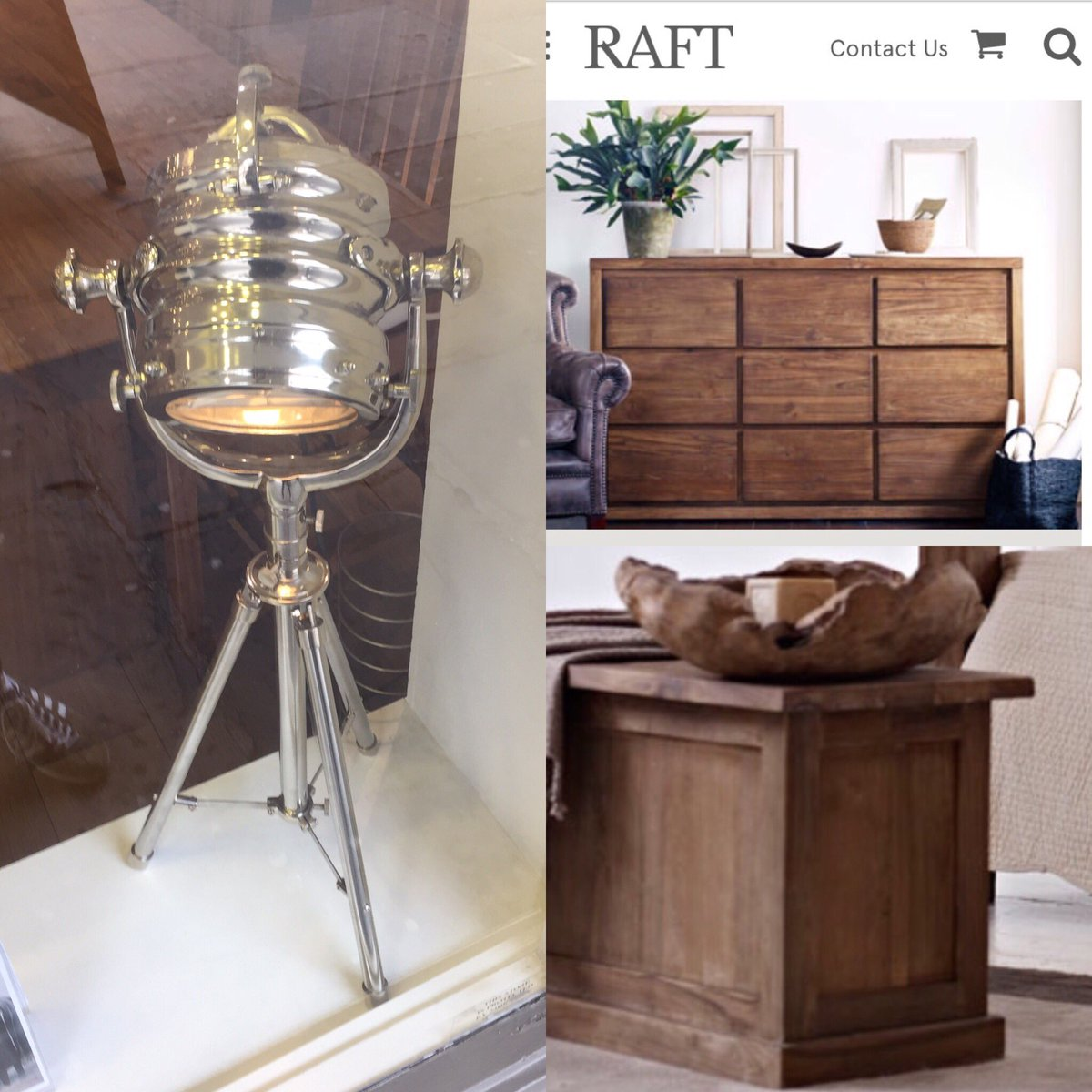 Discovered today @RaftFurniture has all I need #manifesting #wishlist #studio #light #blanket #box #chest of #drawers  #visionboard<br>http://pic.twitter.com/hfalEClIDb