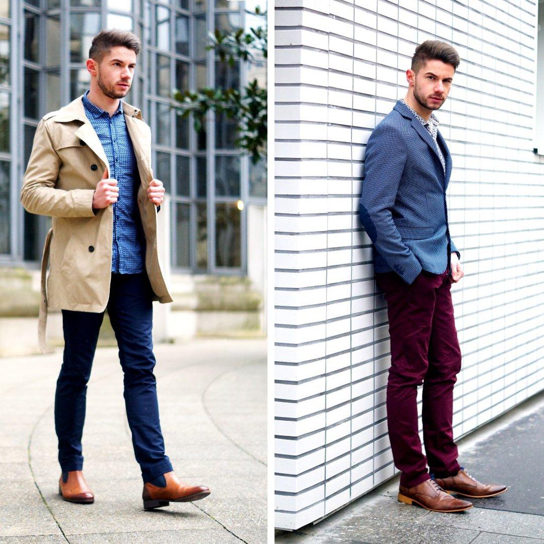 Pour vous aider à trouver l&#39;inspiration, Thomas du blog @unblogunhomme a réalisé deux tenues 100%Devred pour aller travailler #OOTD #Blogger<br>http://pic.twitter.com/caVEwvRTbg