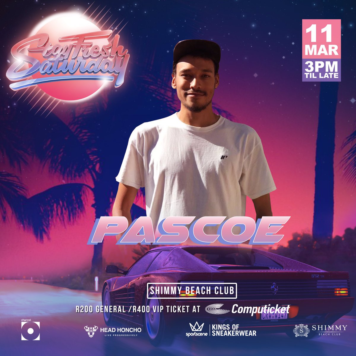 Next up, another new comer to the @StayFresh_SA decks, @jasonpascoe #StayFreshCPT11March ⚡️ https://t.co/q4DZUkUHJ0