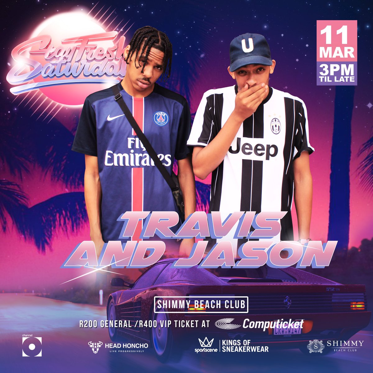 First on the case & new to the @StayFresh_SA stage is @TravisCarelse & @SuicidalJason #StayFreshCPT11March ☄️ https://t.co/o00saqL5Wj