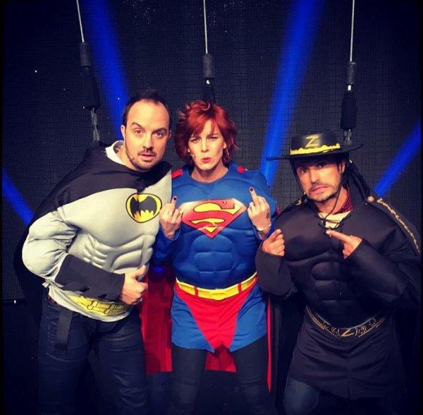 #Flashback  @JarryAtypique @FauveHautot et #WillyRovelli, nos super-héros préférés pour le décollage immédiat sur @VTEP_TF1 ! <br>http://pic.twitter.com/39j89B7JQH
