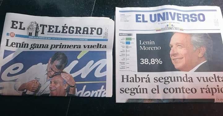 A continuación: un periódico q manipula descaradamente información y un periódico d verdad.  Se ve q Pérez volvió. https://t.co/lGsr57BM8W