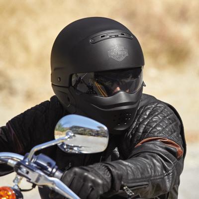 "Bell Full Face Helmet >> Harley-Davidson on Twitter: ""Introducing the Pilot 3-in-1 Helmet. Full, three quarter or half ..."