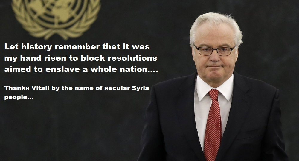 He was the one raised his hand... thank you #Vitali #Churkin. #UN #Russia #Syria #UNSC #SecurityCouncil #World @Justice<br>http://pic.twitter.com/nq03Piqcvd