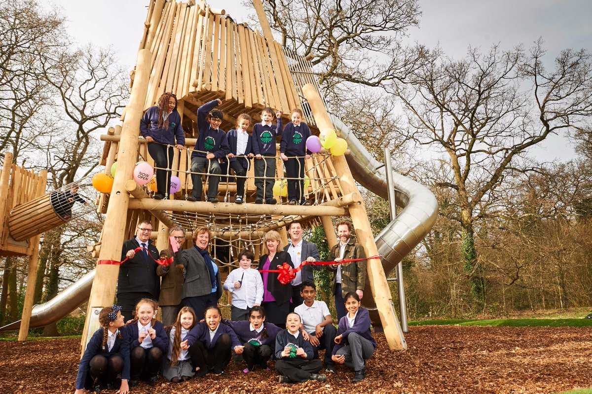 Harebreaks Adventure playground reopened as part of £1.4million investment