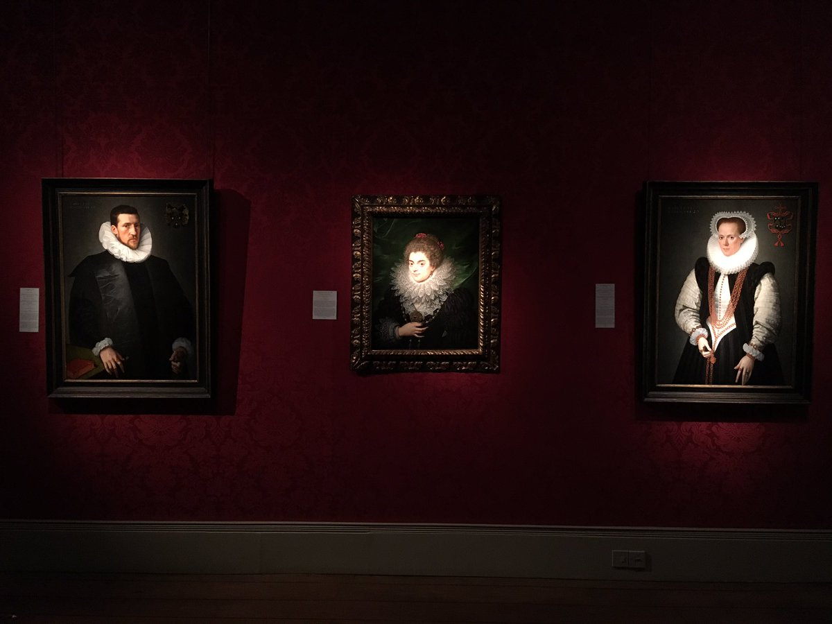 The Weiss Gallery On Twitter Three Frans Pourbus Ii Portraits Hang