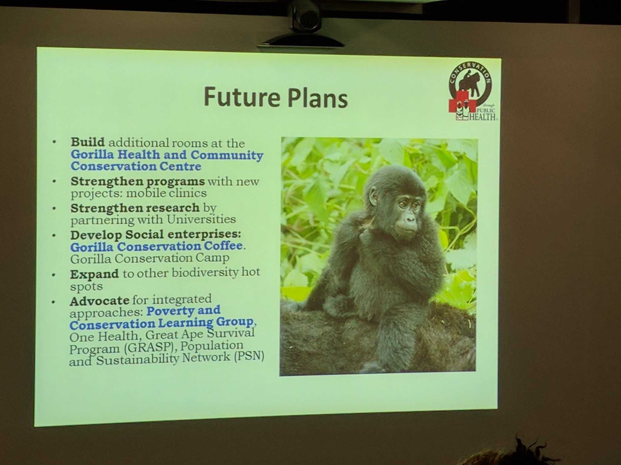 @CTPHuganda have big plans for their projects on health & conservation at #Bwindi https://t.co/jGSJ1JkX8H