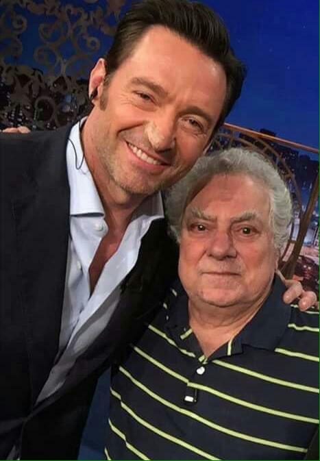 ACONTECEU! O encontro entre Hugh Jackman e Isaac Bardavid, o dublador do Wolverine desde 1994! Só amor! ❤ https://t.co/R7WG12iqmJ