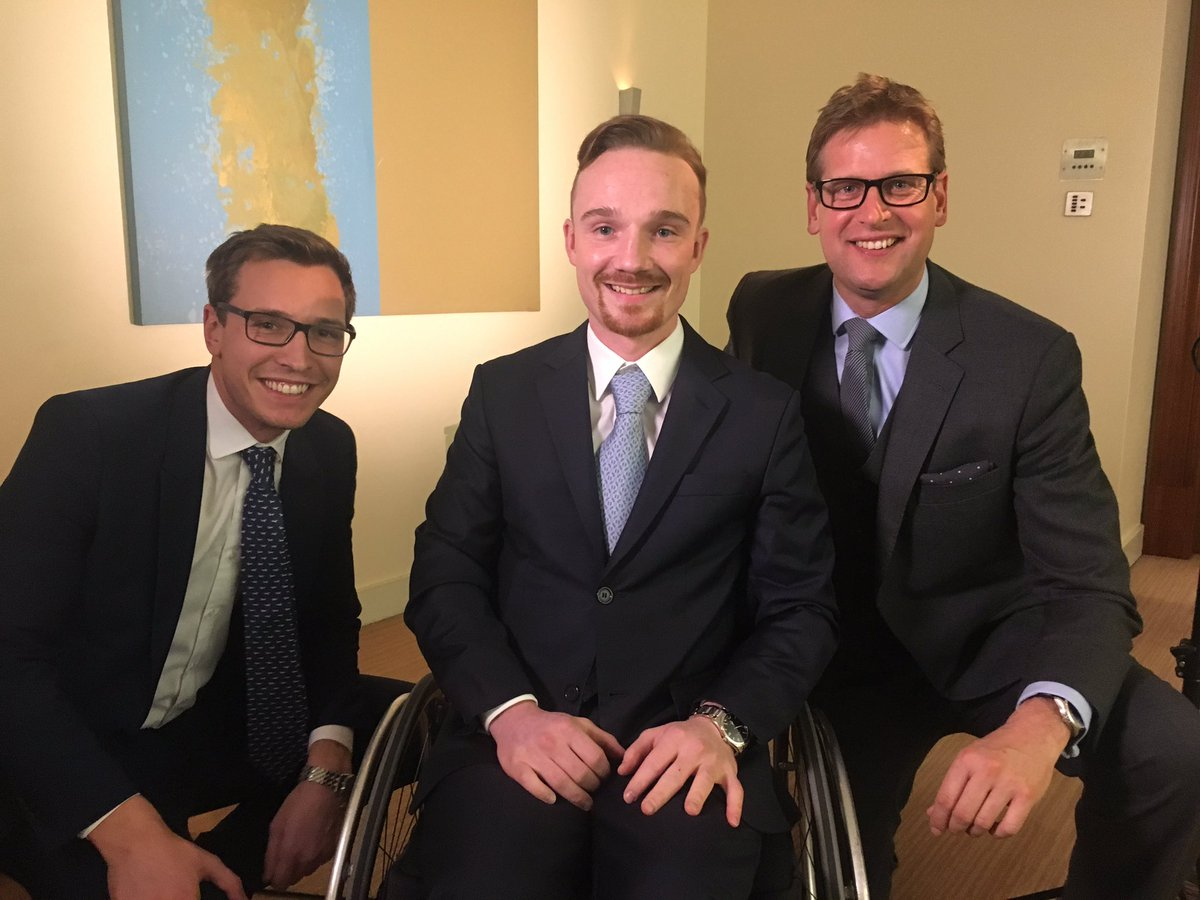 What a lovely & inspiring guy. Freddy Tylicki meets Team @itvracing!