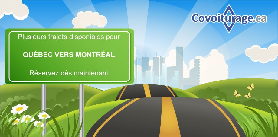 Covoiturage Montreal Quebec >> Covoiturage Ca On Twitter Plusieurs Covoiturages Disponibles Pour