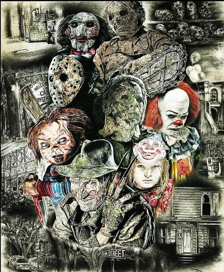 This is Fresh. All the best horror characters and their homes. #freddy #freddykrueger #nig…  http:// ift.tt/2l0MlIp  &nbsp;  <br>http://pic.twitter.com/5feFxzkdiV