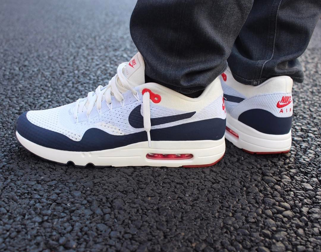 new product 2264f ca2c5 The Nike Air Max 1 Ultra 2.0 Flyknit  Sail  launched early  tgwo com Did  anyone cop  ...