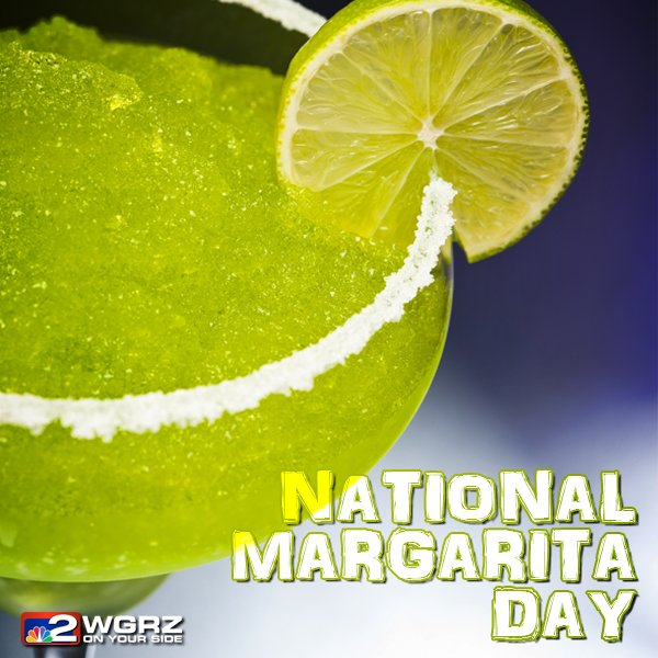 It's #NationalMargaritaDay https://t.co/6TLNaf5zmU