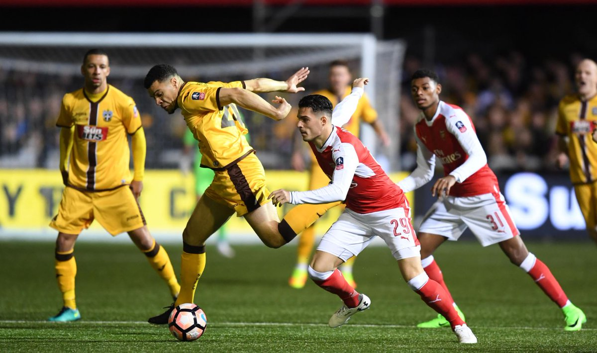 Seriously? Arsenal and Man United fans react to Granit Xhaka's performance vs Sutton