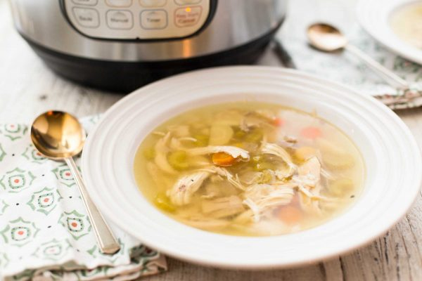 How to Make Chicken Soup in the Pressure Cooker Recipe