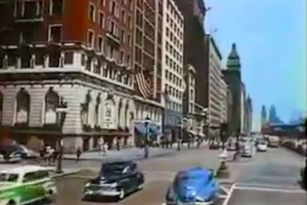 Go on a 1940s street tour of Chicago with awesome vintage video