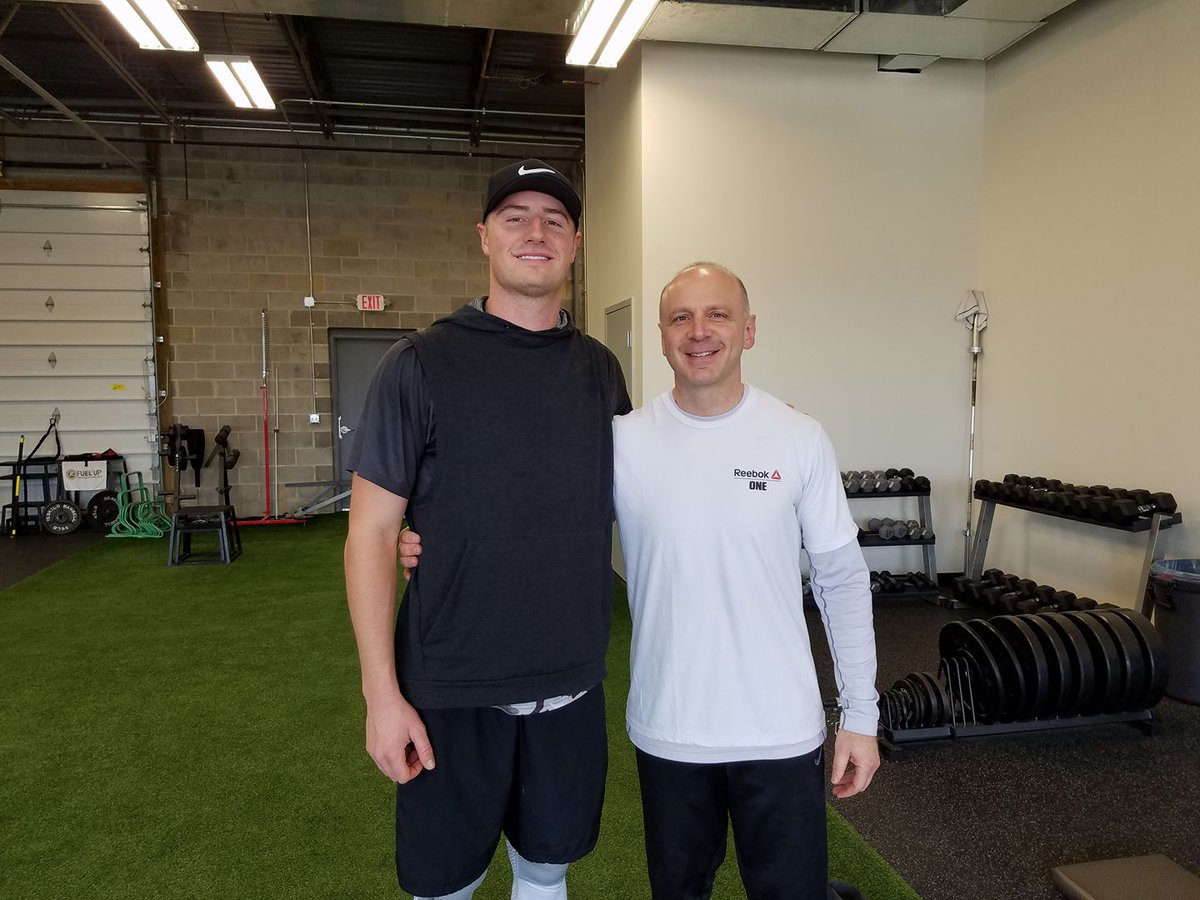 Blessed to work w/@RAIDERS QB, @Connor_Cook03, for the past 6 weeks! Thanks for choosing #APTC for your off-season Strength & Conditioning! https://t.co/0KlgmpIAtF