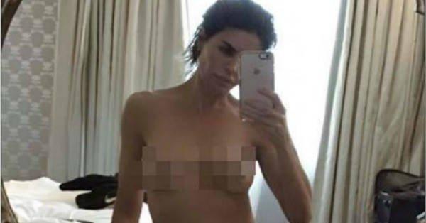 rinna naked Lisa