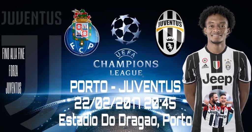 Porto Juventus in Diretta TV adesso