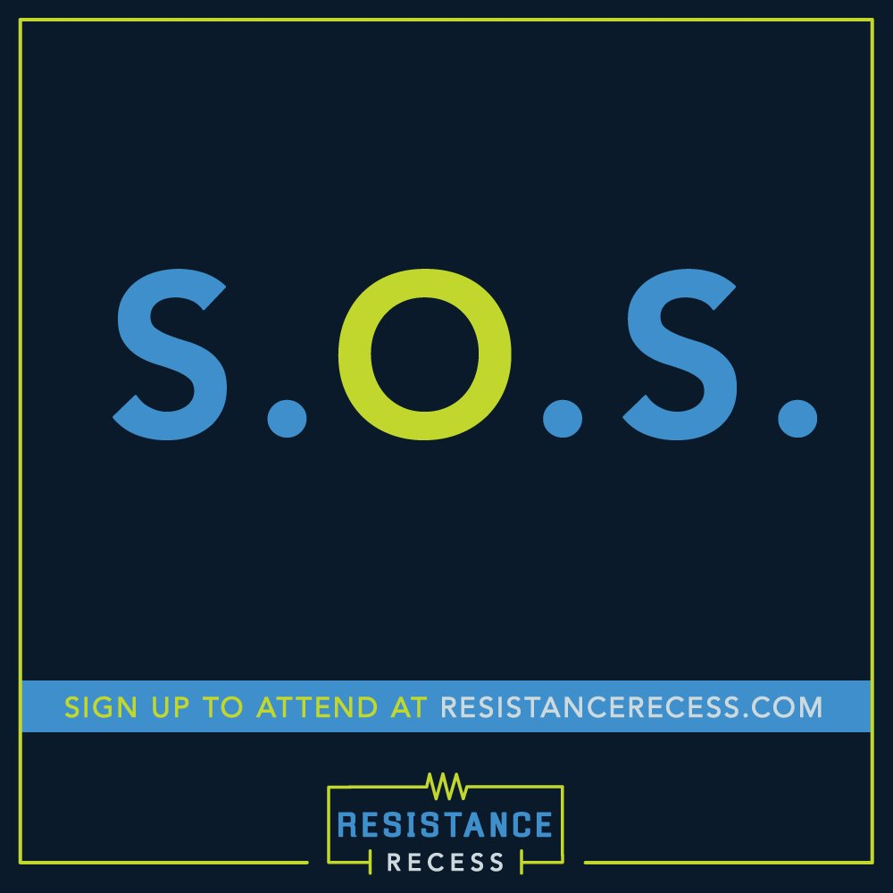 #Congress #TalkWithUs during your recess. More on #ResistanceRecess HERE:
