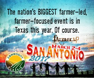 RT @ComClassic: We'll see you in San Antonio in one week! #Classic17 #FarmerUp https://t.co/tCRS7elAwi