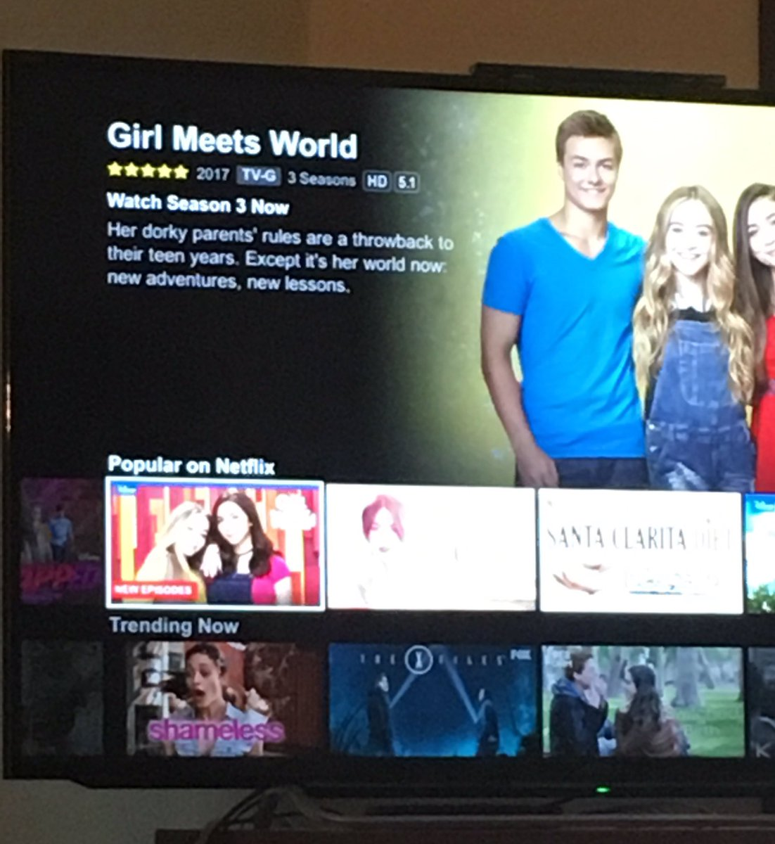 When will girl meets world be on netflix