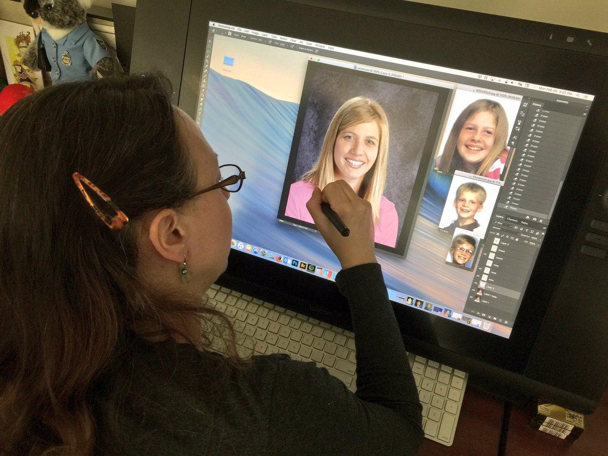Ncmec On Twitter Christi Andrews Ncmec Forensic Artist Works On An Age Progression Of Rachel Anderson Missing From Fulton Mississippi April 11 2000 Https T Co Wq68duxwcd