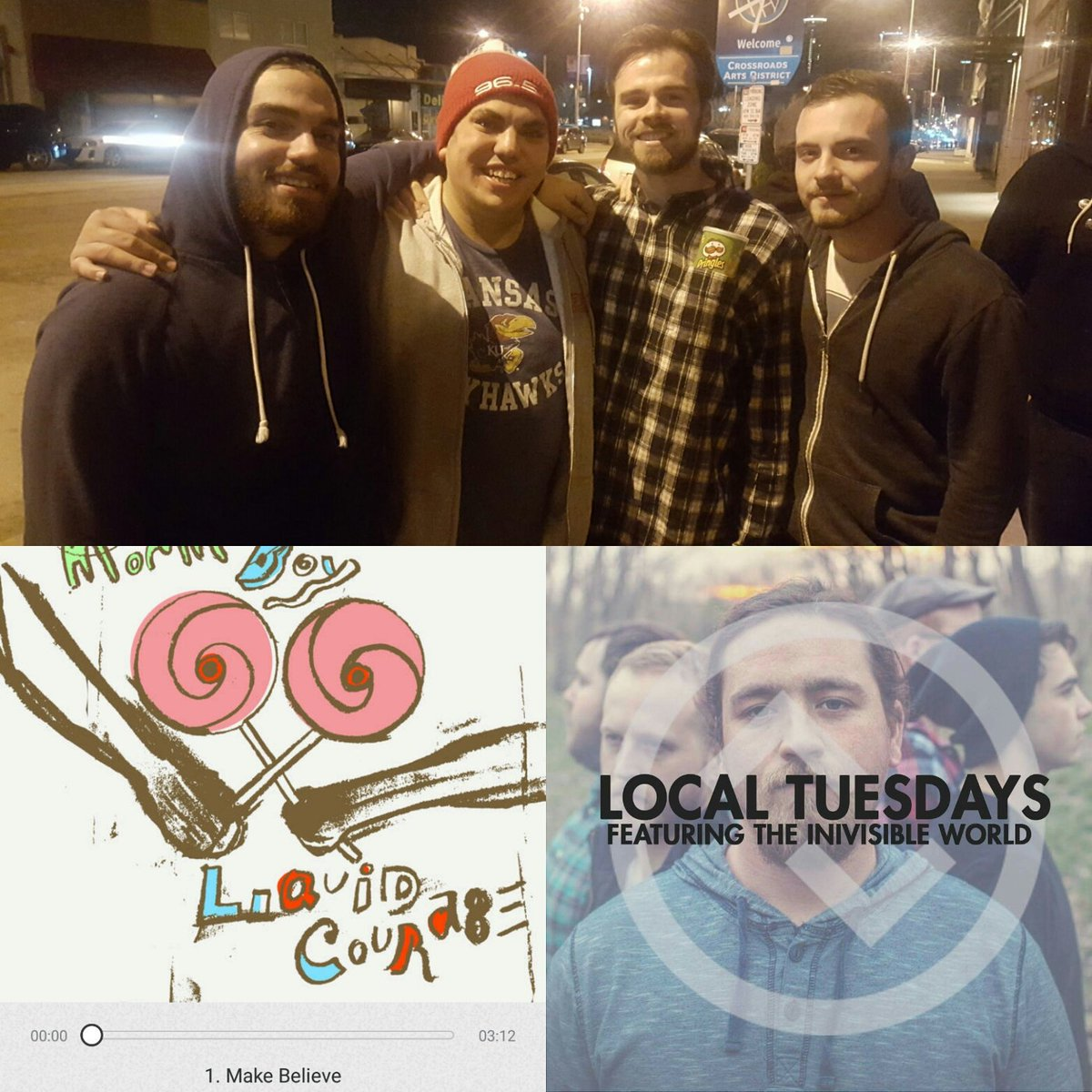 We&#39;re basically throwing a #LocalTuesdays party with @tiwband &amp; a @MommasBoyKC EP listening preview @updownkc tomorrow night! #PartyHard  <br>http://pic.twitter.com/SzrhFLWGkn