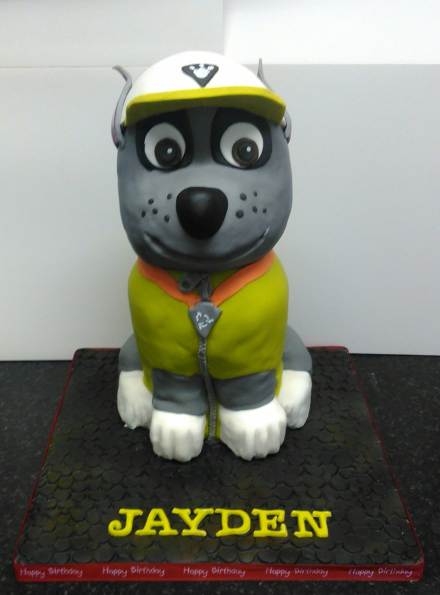 Character Cakes On Twitter Paw Patrol Cake Rocky