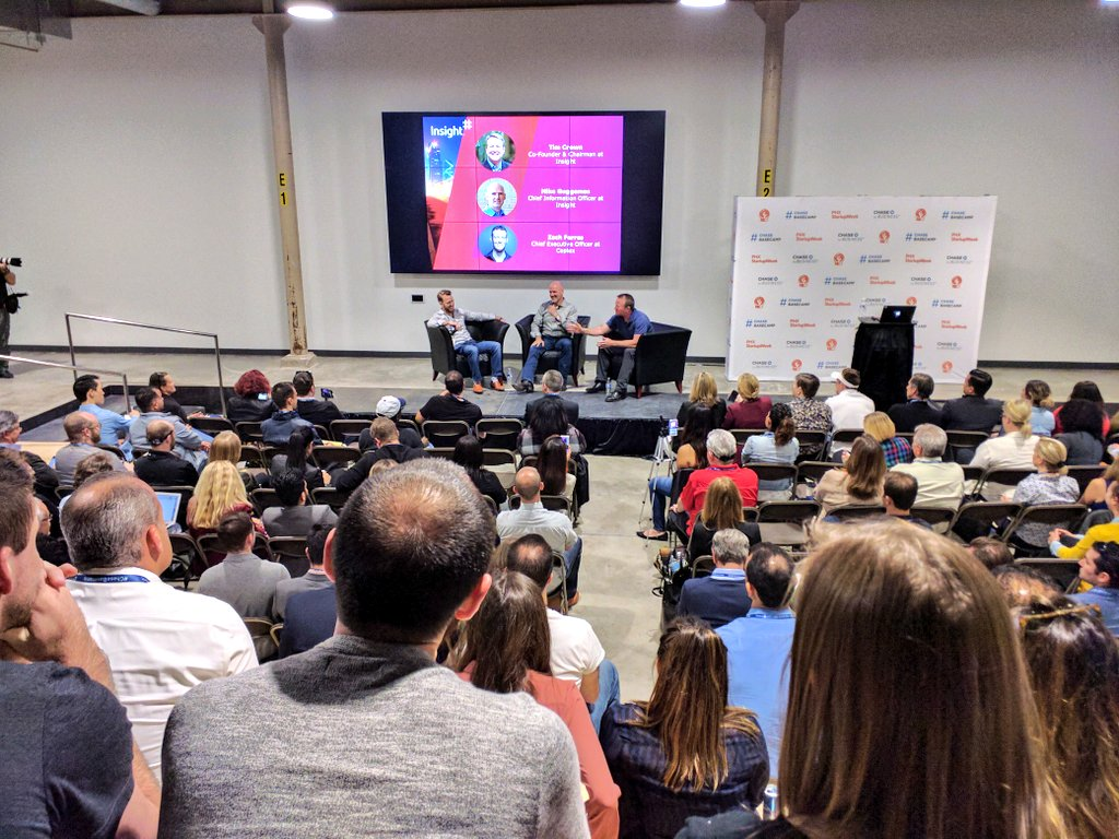 """Today, every business is a technology business."" —Tim Crown, Co-Founder, @InsightEnt  #phxstartupweek https://t.co/ihesGJ0kdB"