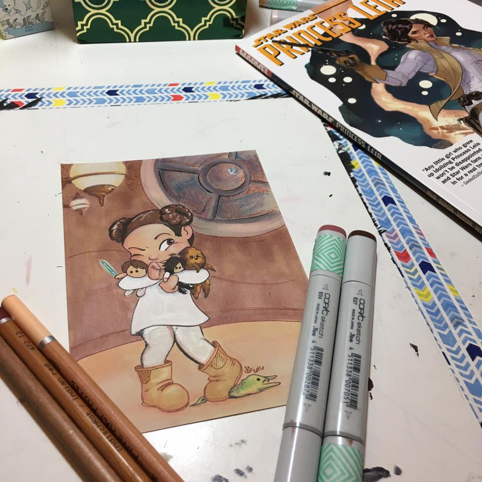 The timelapse video of completing this tribute to #CarrieFisher and #PrincessLeia is now on Youtube  http:// bit.ly/2jMF6H7  &nbsp;  <br>http://pic.twitter.com/iZiv2IVWEe